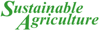 Sustainable Agriculture Newsletter Header